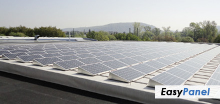 EasyPanel Photovoltaik Showanlage in Ettlingen